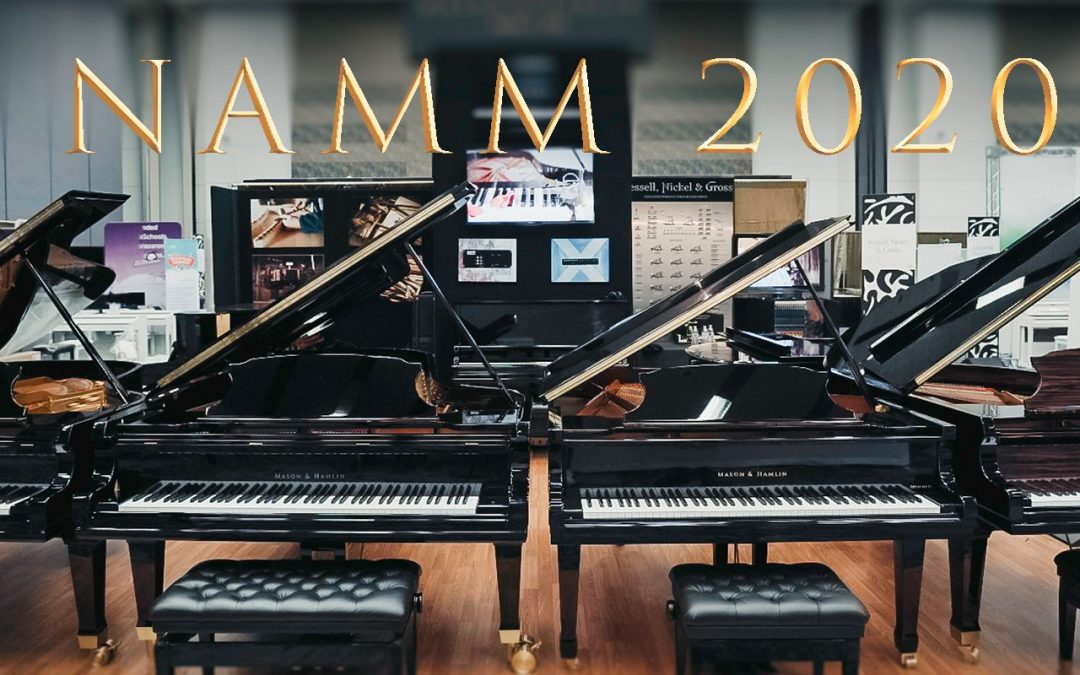 Mason & Hamlin at the 2020 NAMM Show